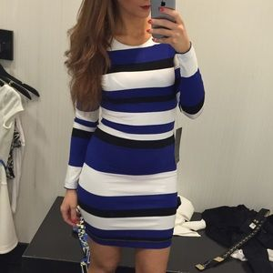 Bebe stripe dress